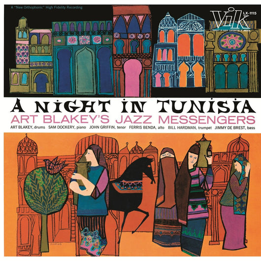 ART BLAKEY AND THE JAZZ MESSENGERS A NIGHT IN TUNISIA LP VINYL 33RPM NEW