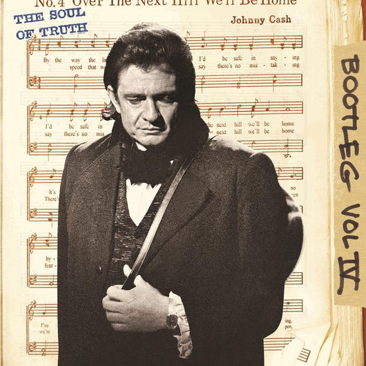 JOHNNY CASH BOOTLEG 4 THE SOUL OF TRUTH LP VINYL 33RPM NEW