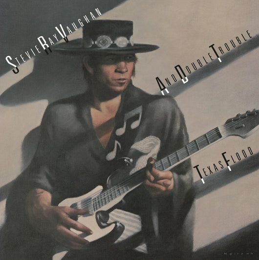STEVIE RAY VAUGHAN AND DOUBLE TROUBLE TEXAS FLOOD LP VINYL 33RPM NEW