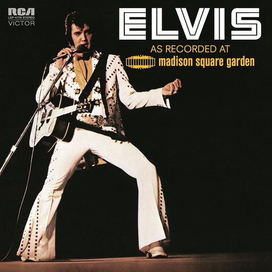 ELVIS PRESLEY AS RECORDED AT MADISON SQUARE GARDEN LP VINYL 33RPM NEW