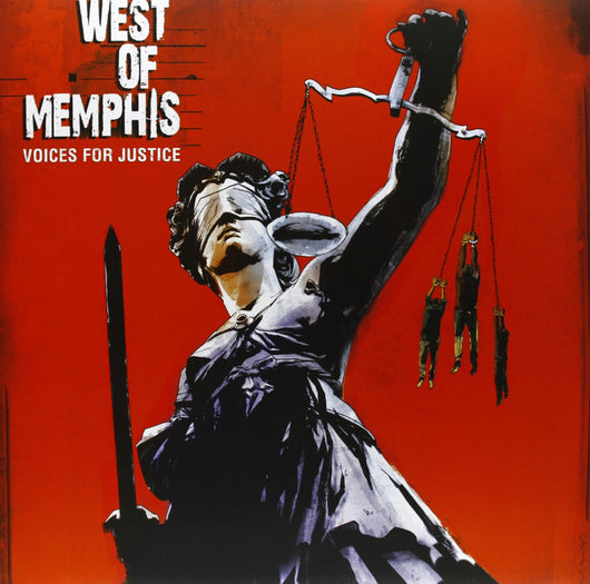 ORIGINAL SOUNDTRACK WEST OF MEMPHIS VOICES FOR JUSTICE LP VINYL 33RPM NEW
