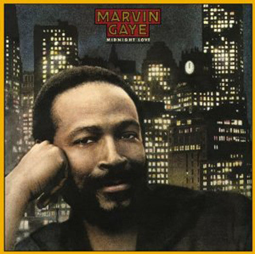MARVIN GAYE MIDNIGHT LOVE LP VINYL 33RPM NEW