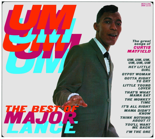MAJOR LANCE UM UM UM UM UM UM LP VINYL 33RPM NEW