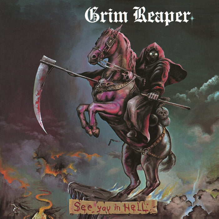 GRIM REAPER SEE YOU IN HELL LP VINYL 33RPM NEW