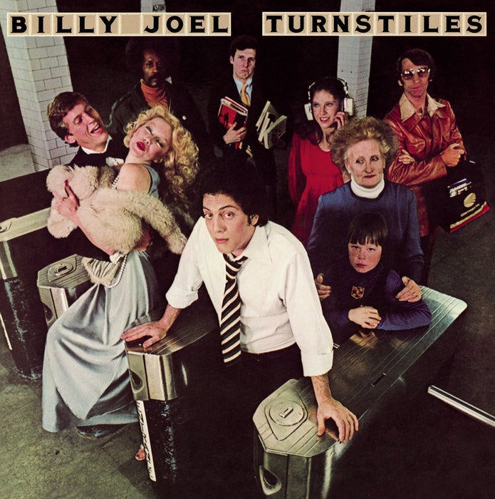 BILLY JOEL TURNSTILES LP VINYL 33RPM NEW