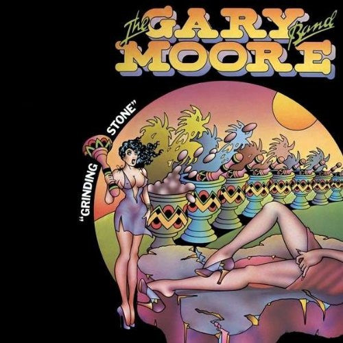 GARY MOORE BAND GRINDING STONE LP VINYL 33RPM NEW