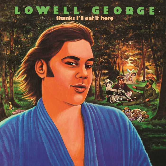 LOWELL GEORGE THANKS ILL EAT IT HERE LP VINYL 33RPM NEW