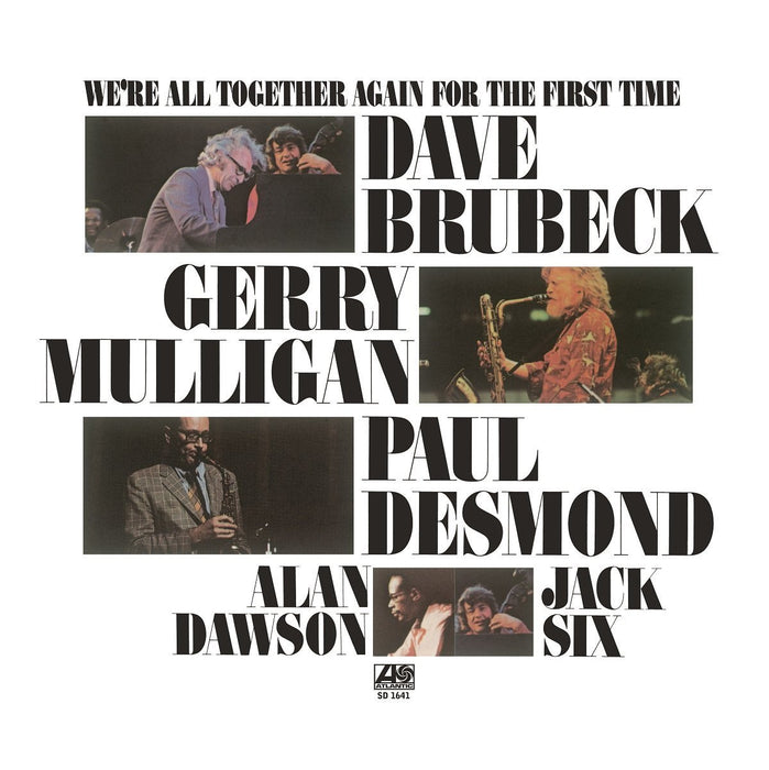 DAVE BRUBECK WERE ALL TOGETHER AGAIN FOR THE FIRST TIME LP VINYL 33RPM NEW