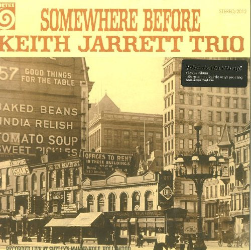 KEITH JARRETT TRIO SOMEWHERE BEFORE LP VINYL 33RPM NEW