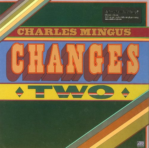 CHARLES MINGUS CHANGES TWO LP VINYL 33RPM NEW
