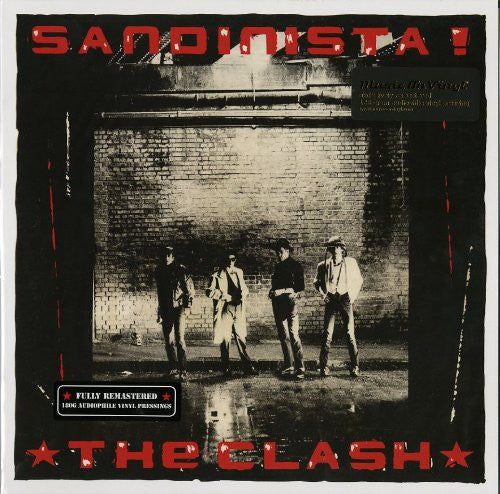 CLASH SANDINISTA! LP VINYL 33RPM NEW