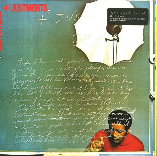 BILL WITHERS AND JUSTMENTS LP VINYL 33RPM RECORD NEW