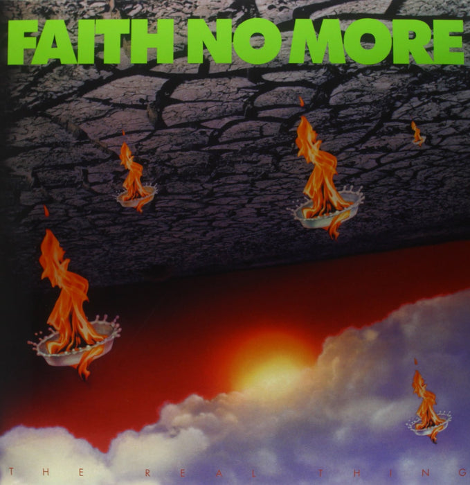 FAITH NO MORE THE REAL THING LP VINYL 33RPM NEW
