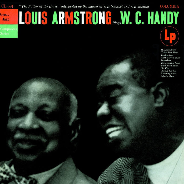 LOUIS ARMSTRONG PLAYS WC HANDY LP VINYL 33RPM NEW