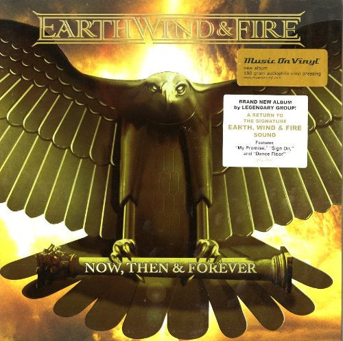 EARTH WIND AND FIRE NOW THEN AND FOREVER LP VINYL 33RPM NEW