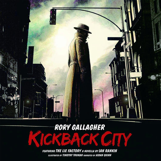 RORY GALLAGHER KICKBACK CITY LP VINYL 33RPM NEW