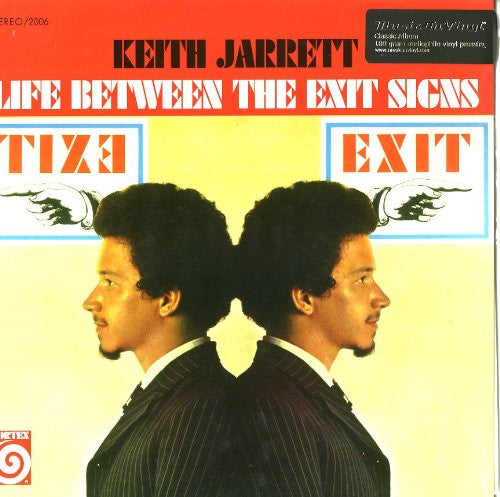 KEITH JARRETT TRIO LIFE BETWEEN THE EXIT SIGNS LP VINYL 33RPM NEW