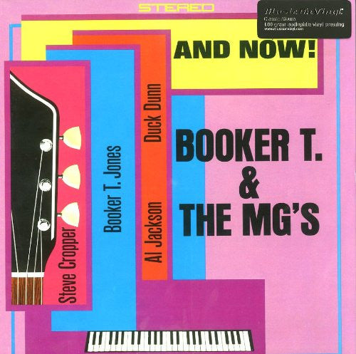 BOOKER T AND THE MGS AND NOW LP VINYL 33RPM NEW