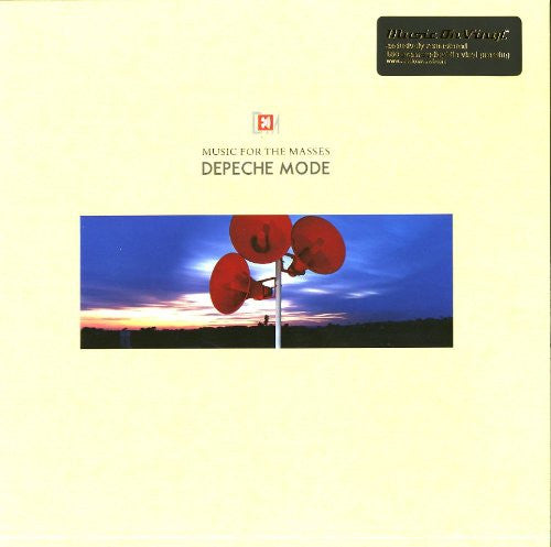 DEPECHE MODE FOR THE MASSES LP VINYL 33RPM NEW