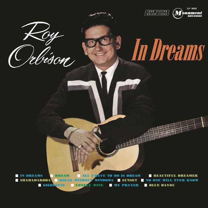 ORBISON ROY IN DREAMS LP VINYL 33RPM NEW REMASTERED