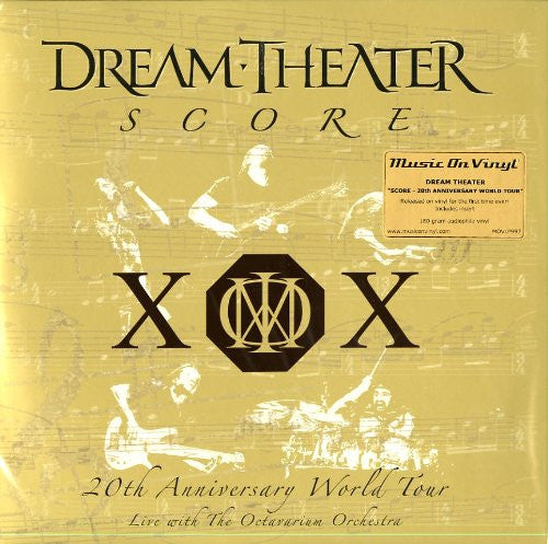 DREAM THEATER SCORE 20TH ANNIVERSARY WORLD TOUR LP VINYL 33RPM NEW