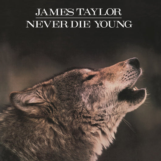 JAMES TAYLOR NEVER DIE YOUNG LP VINYL 33RPM NEW