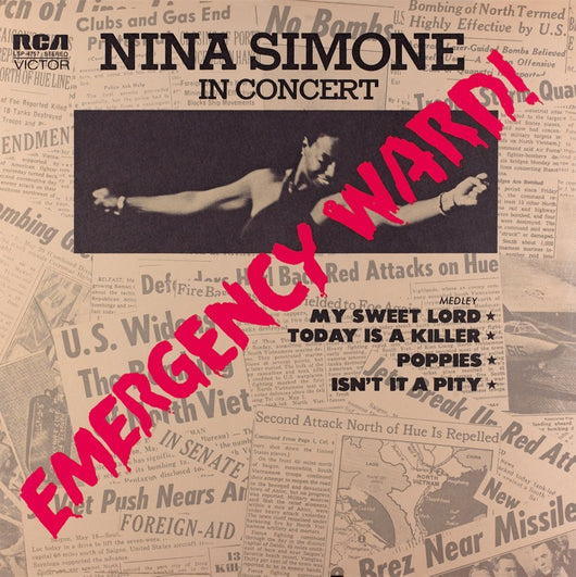 NINA SIMONE EMERGENCY WARD =REMASTERED= LP VINYL 33RPM NEW