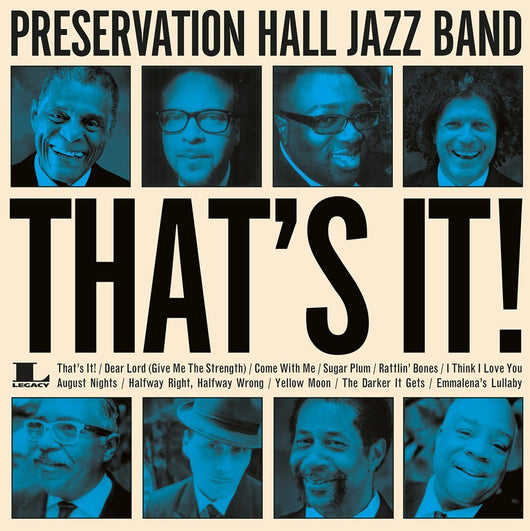 PRESERVATION HALL JAZZ BAND THATS IT LP VINYL 33RPM NEW