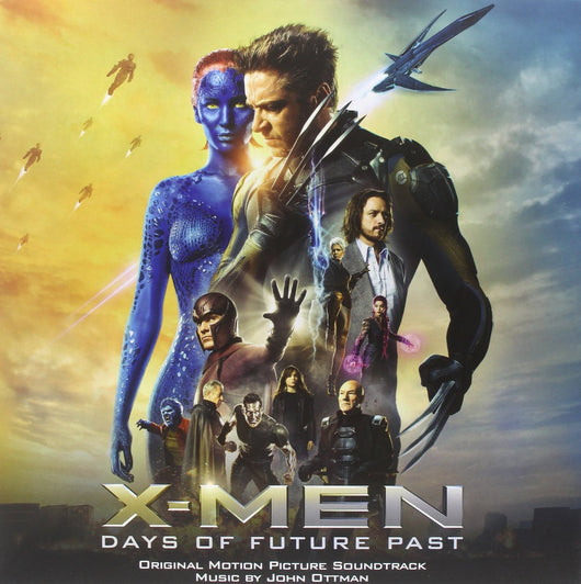 X MEN DAYS OF FUTURE PAST SOUNDTRACK LP VINYL 33RPM NEW