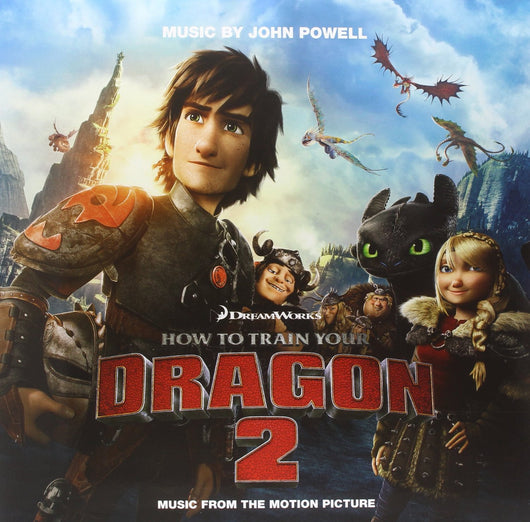 HOW TO TRAIN YOUR DRAGON SOUNDTRACK LP VINYL 33RPM NEW