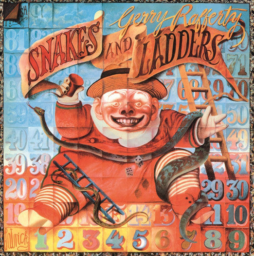 GERRY RAFFERTY SNAKES AND LADDERS LP VINYL NEW 2014 33RPM