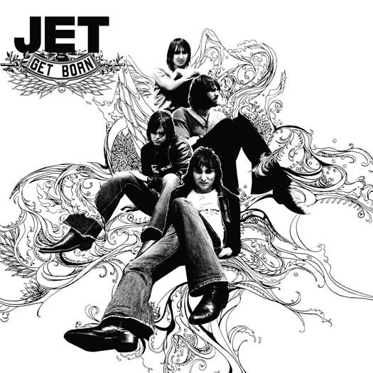 JET GET BORN LP VINYL NEW 33RPM