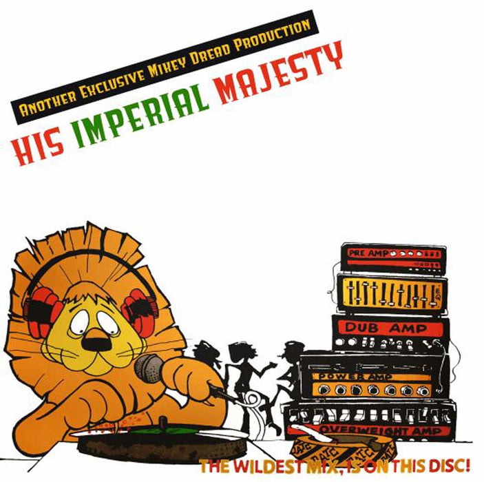 "A Mikey Dread Production - His Imperial Majesty 10"" Vinyl EP RSD Sept 2020"