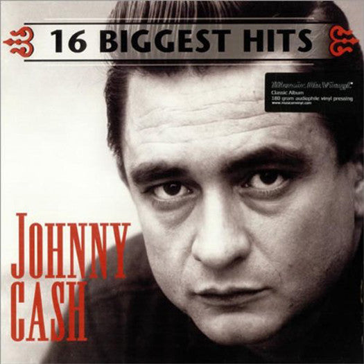 JOHNNY CASH 16 BIGGEST HITS LP VINYL 33RPM NEW