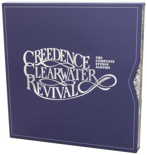 CREEDENCE CLEARWATER REVIVAL THE COMPLETE STUDIO S LP VINYL  NEW BOX SET