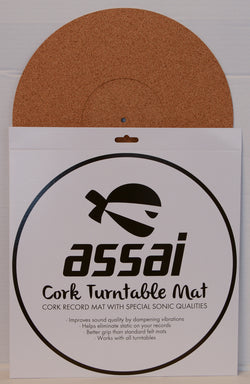 Assai Cork Vinyl Turntable Mat