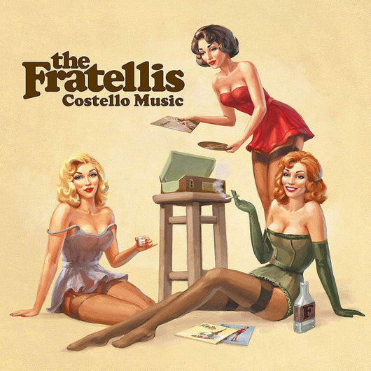The Fratellis - Costello Music Vinyl LP Limited Red Edition New 2018
