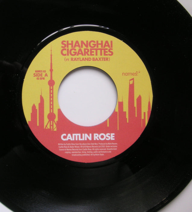 CAIRLIN ROSE SHANGHAI CIGARETTES 7INCH VINYL SINGLE NEW 45RPM