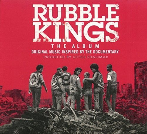 RUBBLE KINGS DOCUMENTARY SOUNDTRACK LP VINYL NEW 33RPM