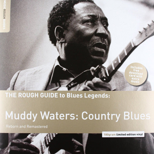 MUDDY WATERS ROUGH GUIDE TO MUDDY LP VINYL NEW 33RPM