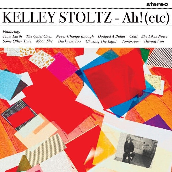 KELLEY STOLTZ Ah!(etc) Vinyl LP 2020 Ltd Dinked Edition #70