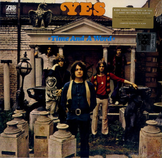 Yes Time & A Word Vinyl LP New Black Friday 2018
