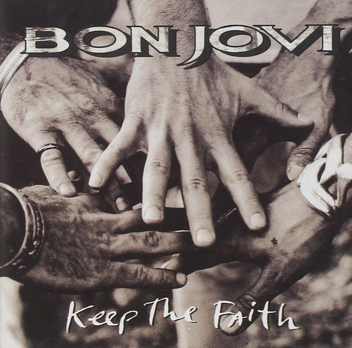 BON JOVI Keep the Faith LP Vinyl 2016 REISSUE NEW
