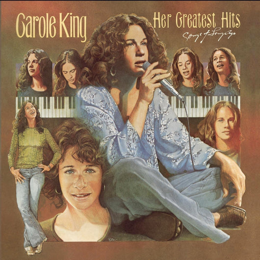 CAROLE KING Her Greatest Hits LP Vinyl NEW 2017