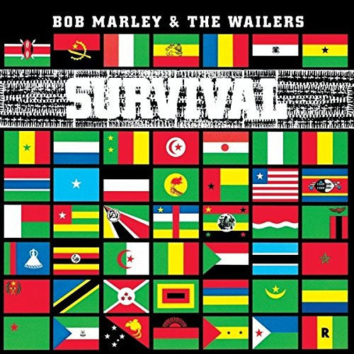BOB MARLEY AND THE WAILERS SURVIVAL LP VINYL NEW 33RPM