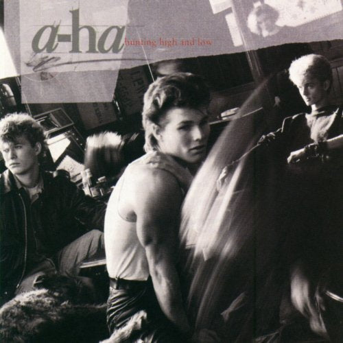 A-HA Hunting High And Low Clear VINYL LP NEW 2018