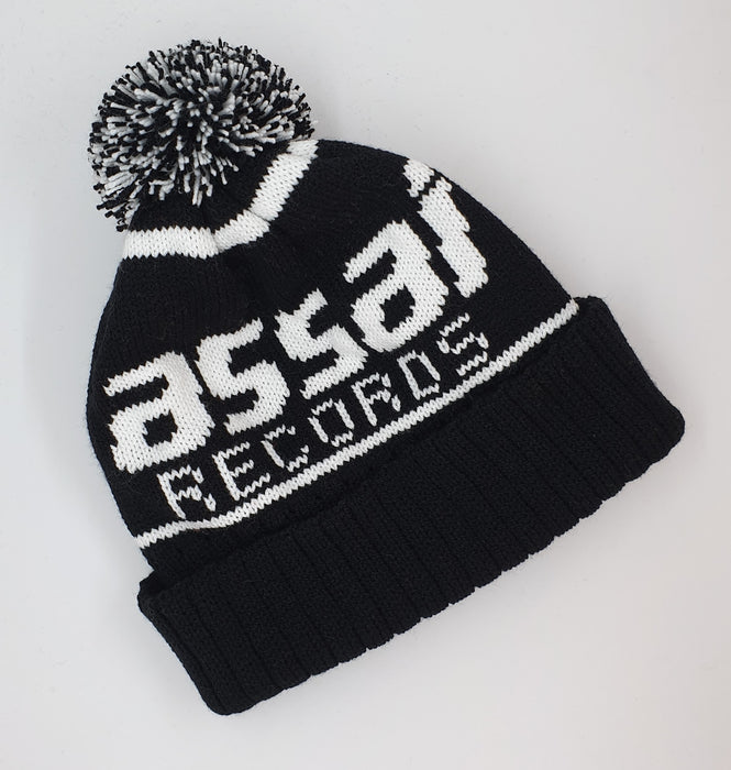 Assai Records Logo Bobble Hat (Handmade in Scotland)