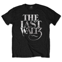 BAND THE LAST WALTZ T-SHIRT LARGE MENS NEW OFFICIAL BLACK