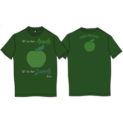BEATLES A IS FOR APPLE T-SHIRT MEDIUM MENS NEW OFFICIAL KELLY GREEN