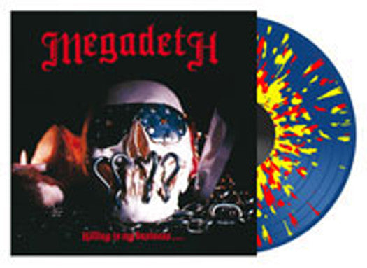 MEGADETH KILLING IS MY BUSINESS 2013 LP VINYL NEW 33RPM